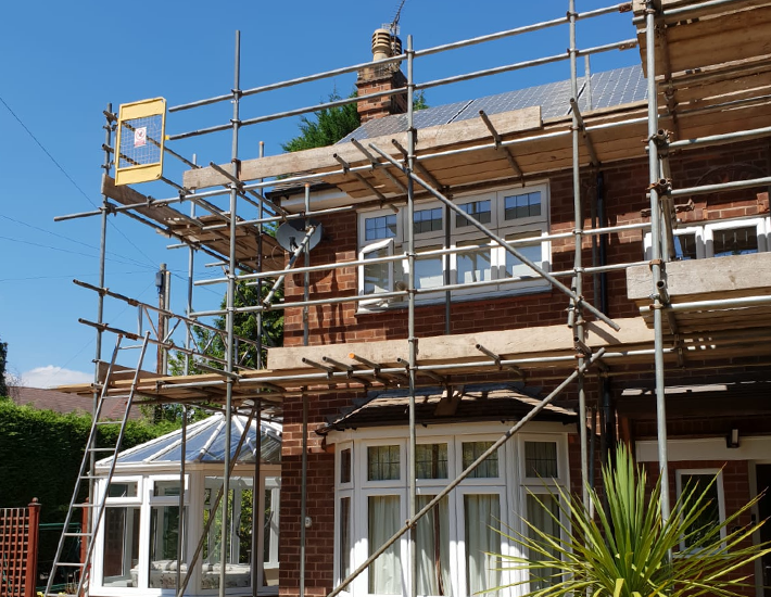 Domestic Scaffolding Services
